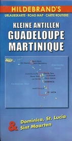 MAŁE ANTYLE GUADELOUPE MARTYNIKA mapa HILDEBRAND'S