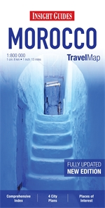 MAROKO mapa 1:800 000 INSIGHT TRAVEL MAP AGADIR
