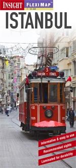 STAMBUŁ ISTANBUL plan miasta laminowany 1:12 500 TURCJA 2013