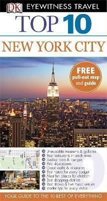 NOWY JORK New York przewodnik TOP 10 DK ang 2013