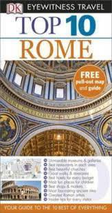 RZYM ROME przewodnik TOP 10 DK ang 2014
