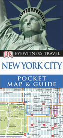 NOWY JORK NEW YORK CITY Pocket Map and Guide - przewodnik i mapa DK