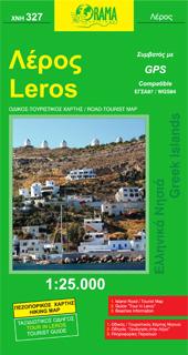 LEROS mapa turystyczno - samochodowa 1:25 000 ORAMA