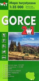 GORCE 2 w 1 mapa turystyczna 1:35 000 WIT
