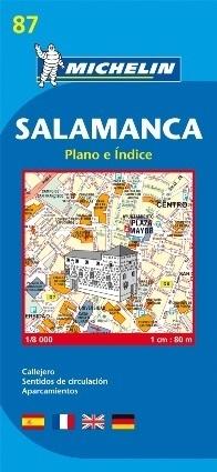 SALAMANCA plan miasta 1:8 000 MICHELIN