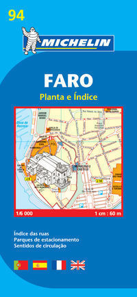 FARO plan miasta 1:6 000 MICHELIN