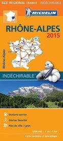 523 RODAN - ALPY mapa samochodowa 1:200 000 FRANCJA MICHELIN 2015