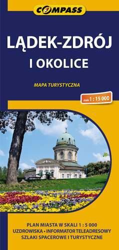 LĄDEK ZDRÓJ I OKOLICE mapa turystyczna COMPASS