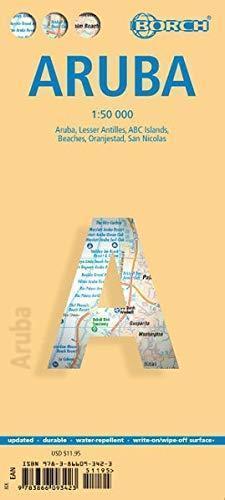 ARUBA mapa turystyczna 1:50 000 wyd. BROCH 2019