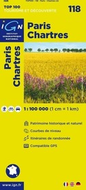 118 PARIS / CHARTRES mapa 1:100 000 IGN