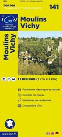 141 MOULINS / VICHY mapa 1:100 000 IGN