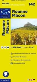 142 ROANNE / MACON mapa 1:100 000 IGN