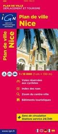 NICEA NICE plan miasta 1:13 000 IGN