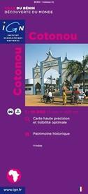 COTONOU (BENIN) 1:15 000 plan miasta IGN