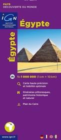 EGIPT mapa samochodowa IGN
