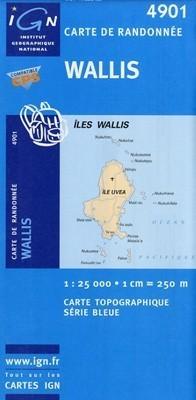 WALLIS mapa turystyczna1:25 000  IGN