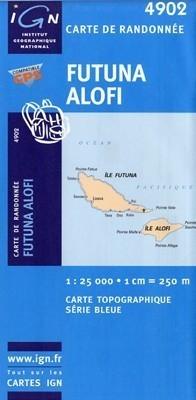 FUTUNA I ALOFI mapa turystyczna1:25 000  IGN