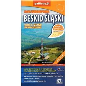 BESKID ŚLĄSKI mapa turystyczna wodoodporna 1:25 000 PLAN 2016 !!