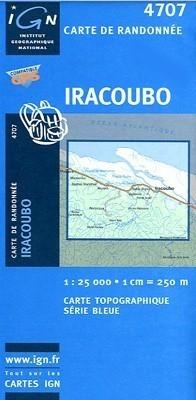 IRACOUBO / GUJANA FRANCUSKA mapa turystyczna 1:25 000 IGN