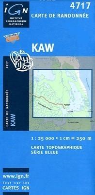 KAW / GUJANA FRANCUSKA mapa turystyczna 1:25 000 IGN