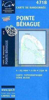 POINTE-BEHAGUE / GUJANA FRANCUSKA mapa turystyczna 1:25 000 IGN