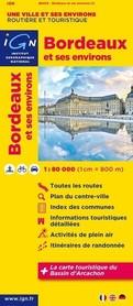 BORDEAUX I OKOLICE mapa 1:80 000 IGN