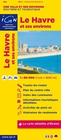 LE HAVRE I OKOLICE mapa 1:80 000 IGN