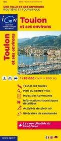 TOULON I OKOLICE mapa 1:80 000 IGN