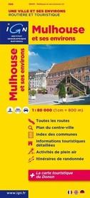MOLHOUSE (MILUZA) I OKOLICE mapa 1:80 000 IGN