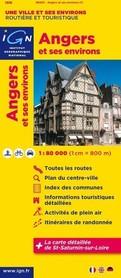ANGERS I OKOLICE mapa 1:80 000 IGN