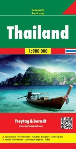TAJLANDIA mapa samochodowa 1:900 000 FREYTAG & BERNDT