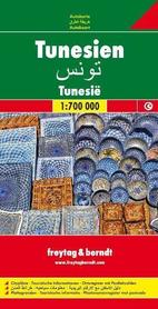 TUNEZJA mapa samochodowa 1:700 000 FREYTAG & BERNDT