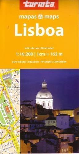 LIZBONA plan miasta 1:16 200 TURINTA