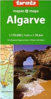ALGARVE mapa samochodowa 1:300 000 TURINTA