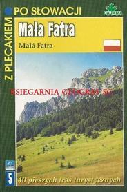 MAŁA FATRA z plecakiem po Słowacji przewodnik DAJAMA