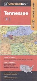 TENNESSEE mapa samochodowa UNIVERSALMAP