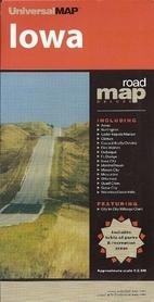 IOWA mapa samochodowa UNIVERSALMAP