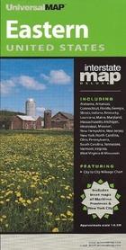 EASTERN USA mapa samochodowa UNIVERSALMAP