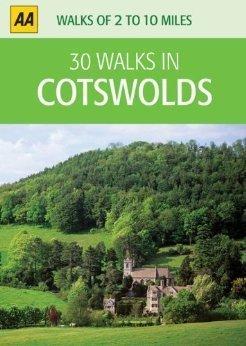 30 Walks in Cotsworld przewodnik AA
