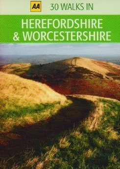 30 Walks in Herefordshire & Worcestershire przewodnik AA