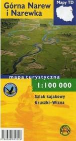 GÓRNA NAREW I NAREWKA mapa turystyczna 1:100 000 TD folia