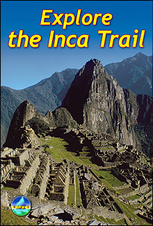 Explore the Inca Trail przewodnik Rucksack Readers