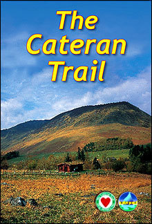 The Cateran Trail przewodnik Rucksack Readers