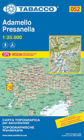 052 ADAMELLO - PRESANELLA mapa turystyczna 1:25 000 TABACCO