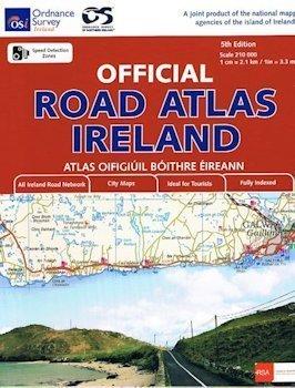 IRLANDIA atlas samochodowy 1:210 000 OSI