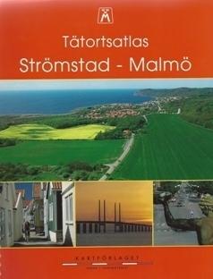 STROMSTAD - MALMO atlas samochodowy wybrzeża Szwecji KARTCENTRUM