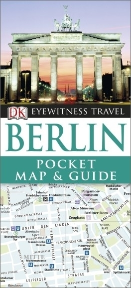 BERLIN Pocket Map and Guide - przewodnik i mapa DK 2015
