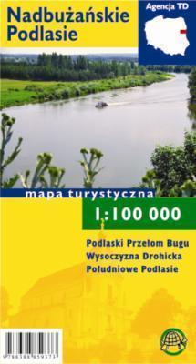 NADBUŻAŃSKIE PODLASIE mapa turystyczna 1:100 000 TD FOLIA 2015