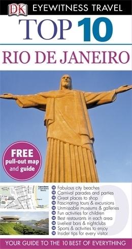 RIO DE JANEIRO przewodnik TOP 10 DK ang 2013