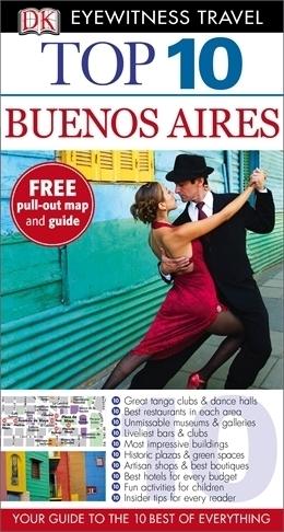 BUENOS AIRES przewodnik i mapa TOP 10 DK ang 2013